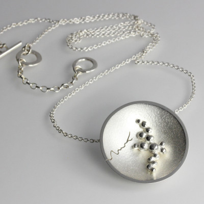 Morphology Pendant V. Small pendant, sterling silver, £220.