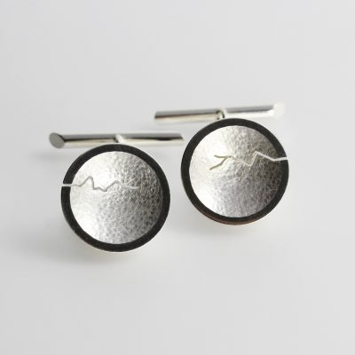 Morphology Cufflinks. Sterling silver. £150