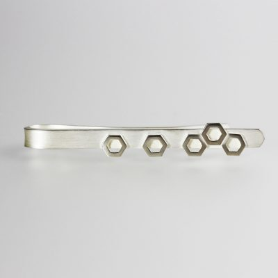 Isometric Tie Clip. Sterling sliver. £135